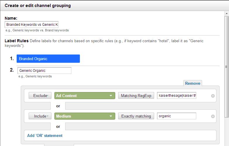 generic keywords
