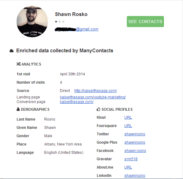 subscriber manycontacts