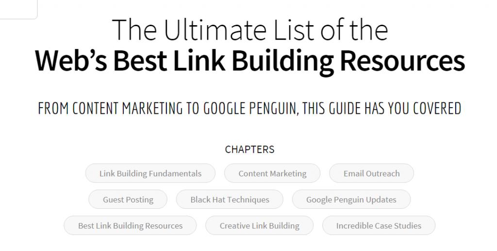 link building - definitive guide