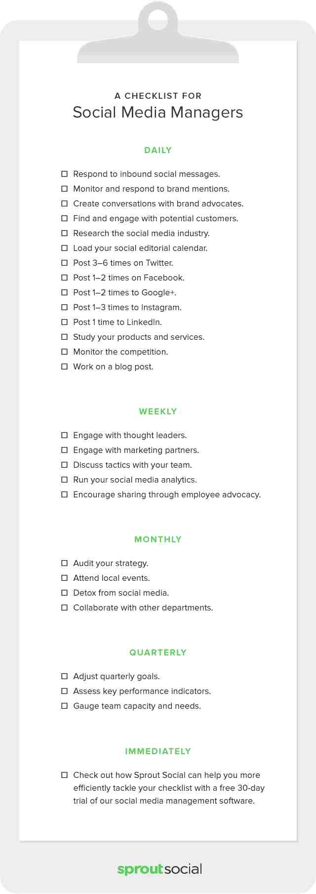 70 useful inbound marketing checklists and cheat sheets social media marketing cheat sheets checklists and advanced guides malvernweather Gallery